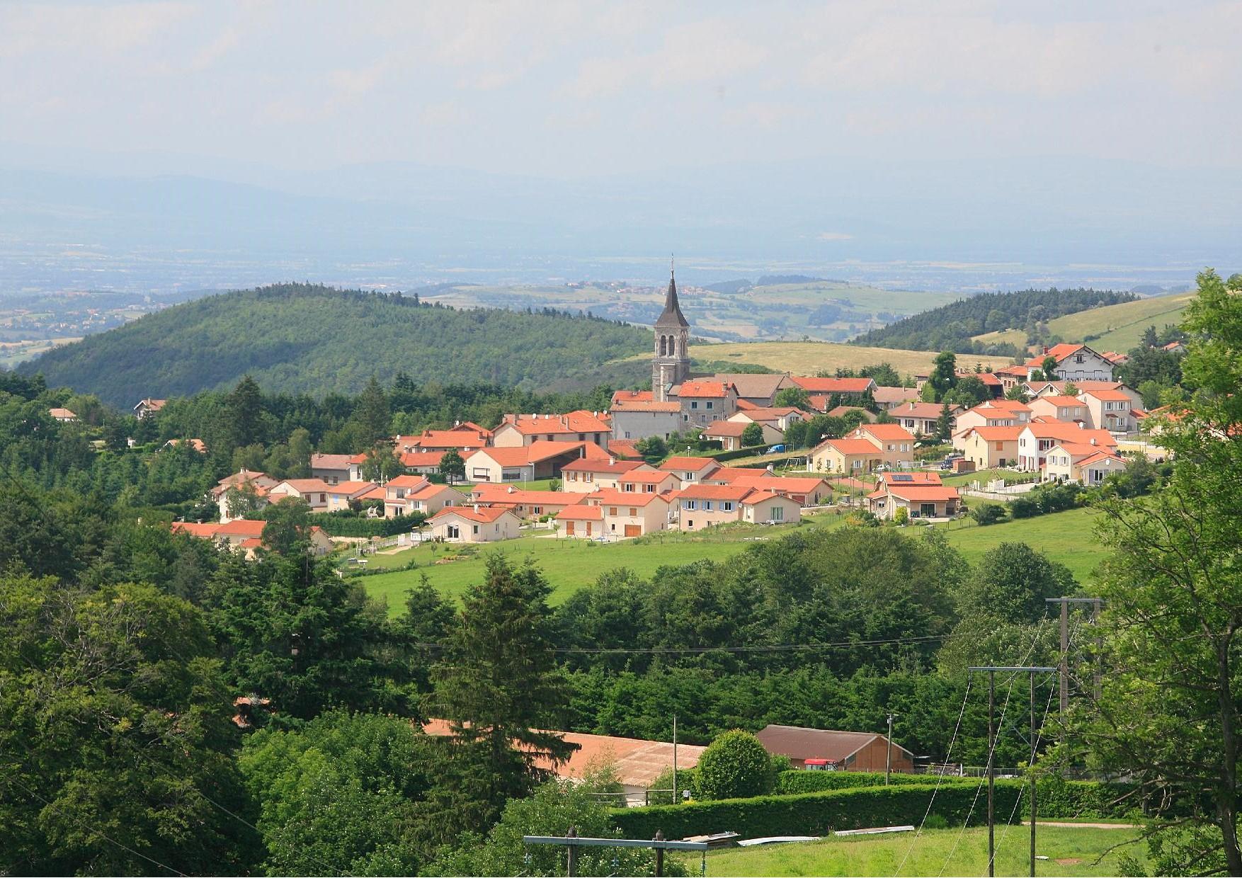 Saint-Romain-les-Atheux - CC Monts du Pilat